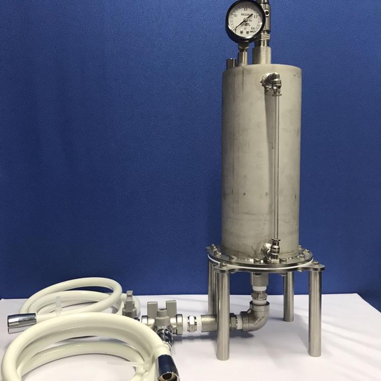 簡易加圧溶解タンク